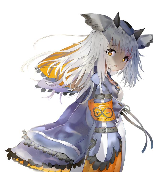 Tags: Anime, Pixiv Id 14475287, Arknights, Ptilopsis