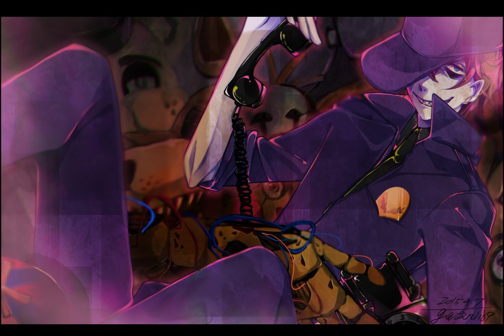 Purple Man Five Nights At Freddys Image 1882076