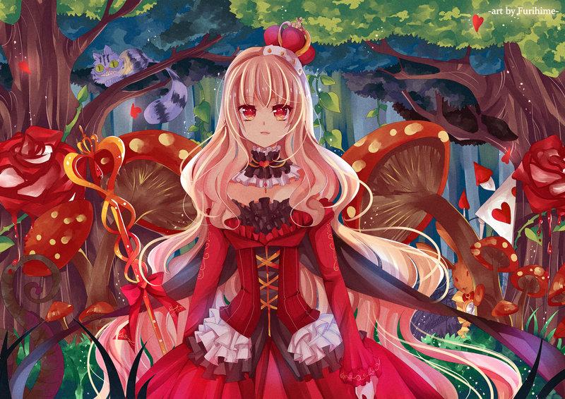 Queen Of Hearts Alice In Wonderland Zerochan Anime Image Board