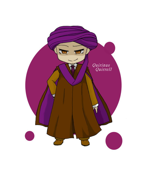 Tags: Anime, Pixiv Id 3499777, Harry Potter, Quirinus Quirrell