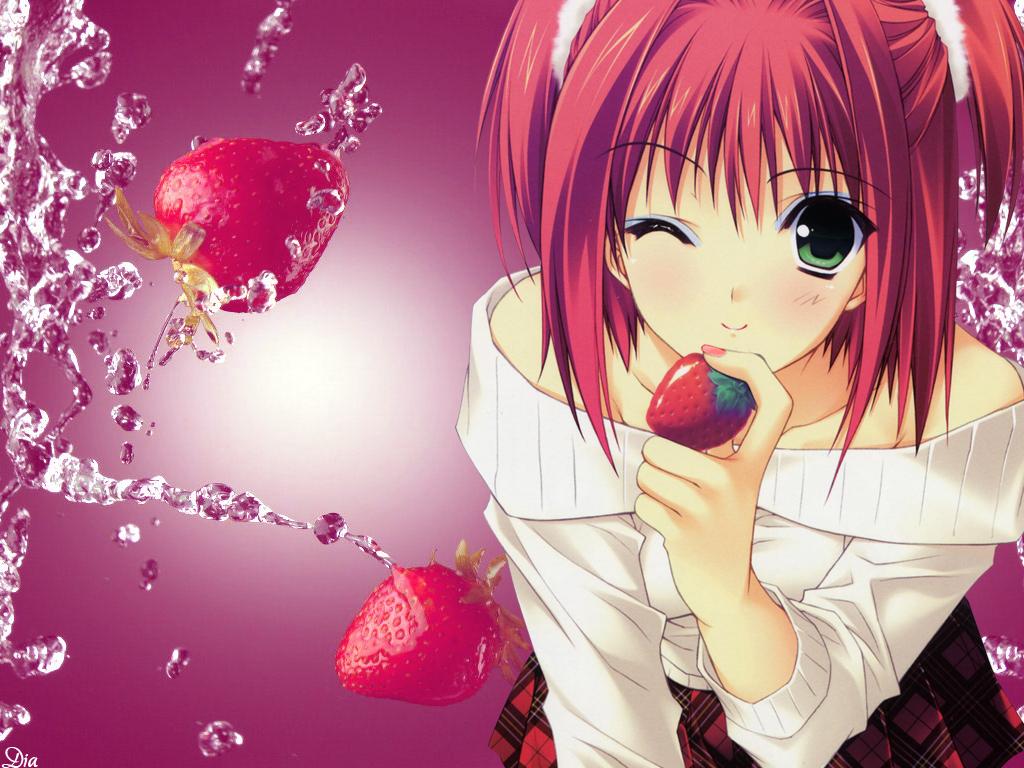 Фото на аву для девочек аниме
