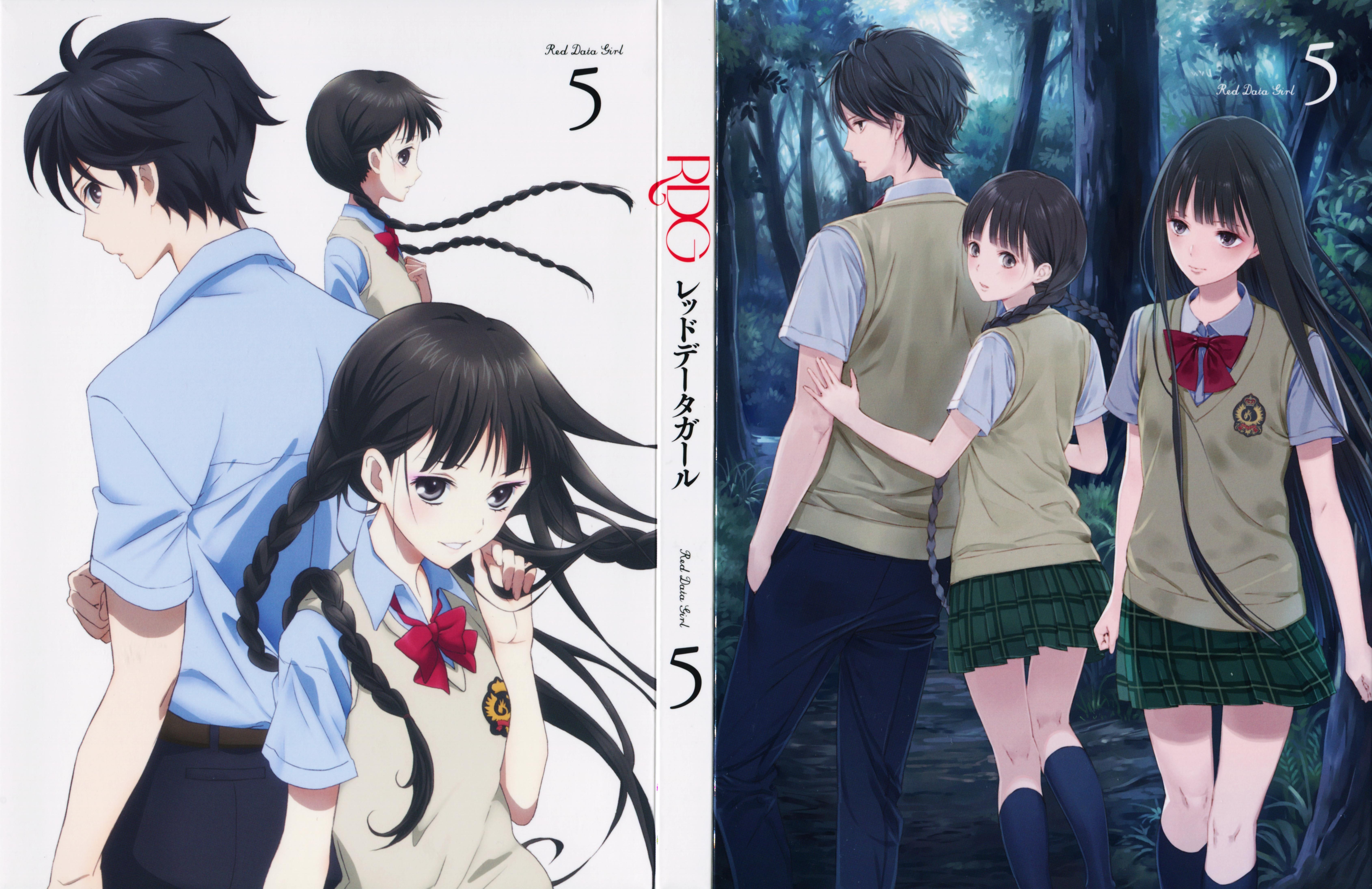 Rdg Red Data Girl Zerochan Anime Image Board