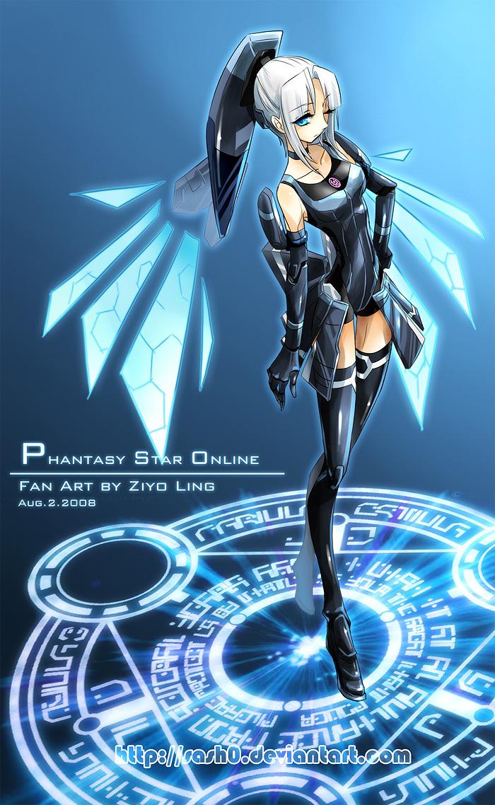 phantasy star online (phantasy star online blue burst) - phantasy