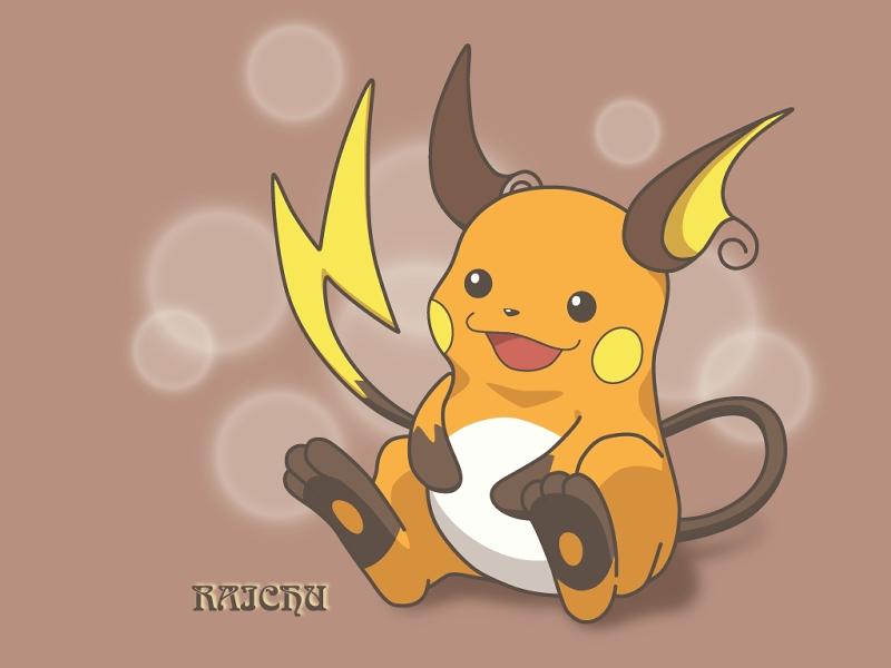 Pokemon Raichu Raichu - Pokémon ...