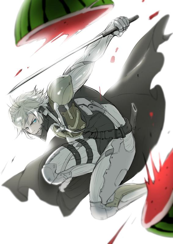 Tags: Anime, Pixiv Id 8629526, Metal Gear Solid, Raiden, Pixiv, Fanart, Fanart From Pixiv