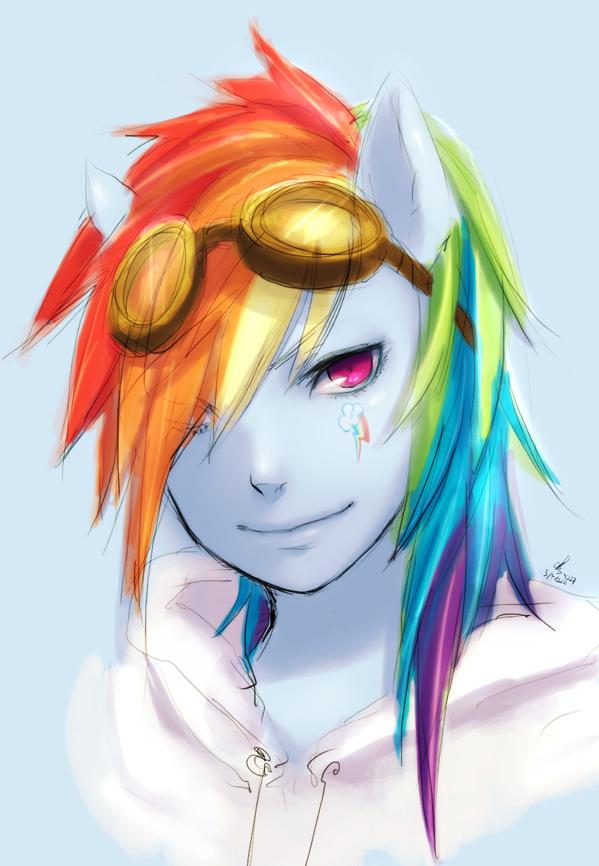 Rainbow Dash ...