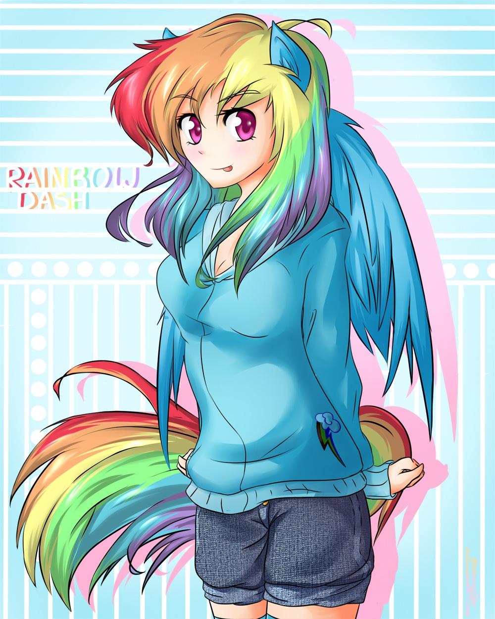 Rainbow Dash - My Little Pony - Image #1319709 - Zerochan ...