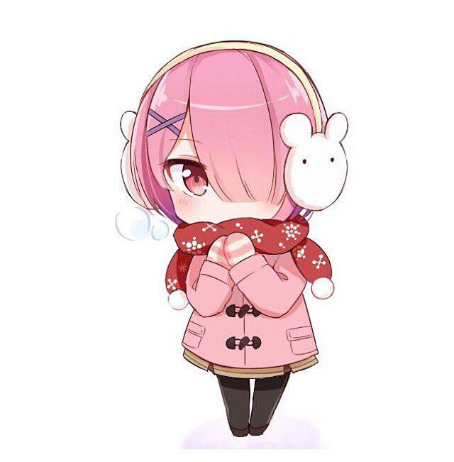 Tags: Anime, Hinata49108292, Re:Zero Kara Hajimeru Isekai Seikatsu, Ram (Re:Zero), Fanart, Twitter
