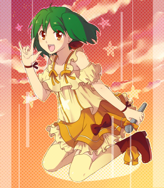 Tags: Anime, Macross Frontier