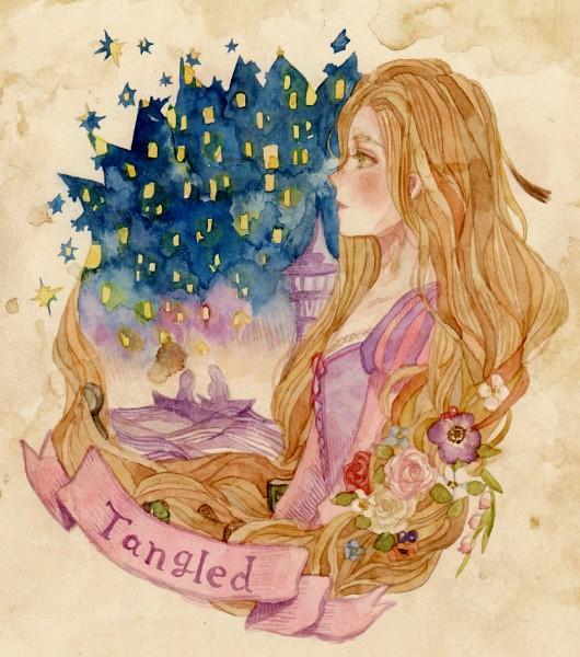 Tags: Anime, Rapunzel, Rapunzel (Character), Tangled (Disney), Rapunzel (Tangled), Pixiv Id 1289840