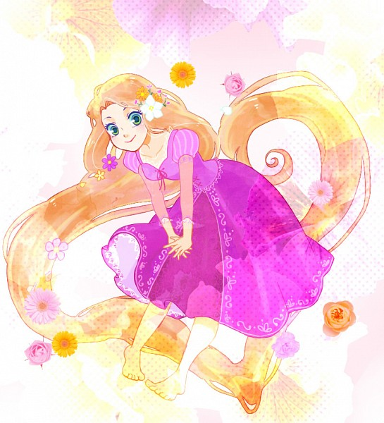 Tags: Anime, Rapunzel, Rapunzel (Character), Chidori (Pixiv 672641), Tangled (Disney), Rapunzel (Tangled), Pied Nus