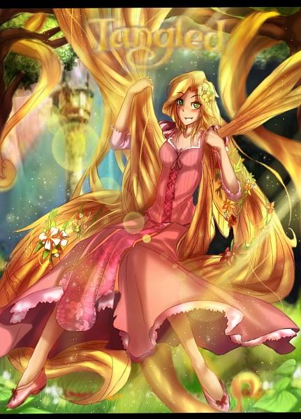 Tags: Anime, Rapunzel, Rapunzel (Character), Tangled (Disney), Rapunzel (Tangled)