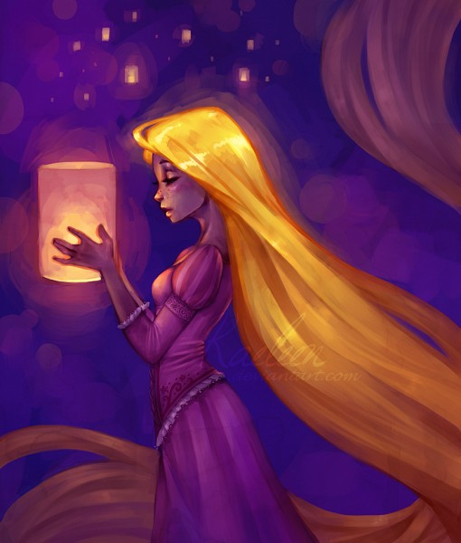 Tags: Anime, Rapunzel, Lamp, Disney, Rapunzel (Character), Tangled (Disney), Rapunzel (Tangled)