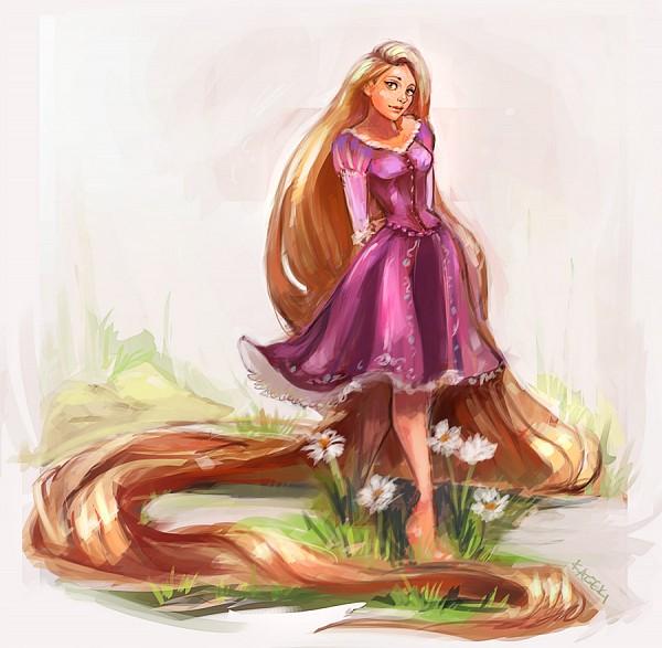 Tags: Anime, Rapunzel, Shoeless, Rapunzel (Character), Tangled (Disney), Rapunzel (Tangled), Kazeki