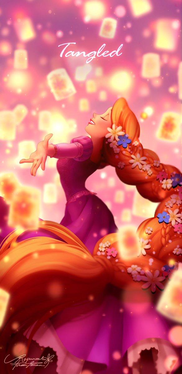 Tags: Anime, Pixiv Id 4234222, Rapunzel, Tangled (Disney), Rapunzel (Character), Rapunzel (Tangled), Disney, Pixiv, I See The Light, Fanart From Pixiv, Fanart
