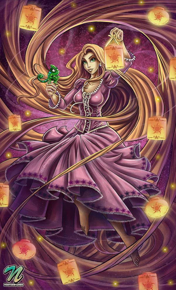 Tags: Anime, Rapunzel, Lizard, Rapunzel (Character), Tangled (Disney), Pascal (Tangled), Rapunzel (Tangled)