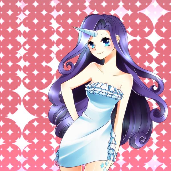 Tags: Anime, Pixiv Id 3619000, My Little Pony, Rarity, Pixiv, Fanart, Fanart From Pixiv