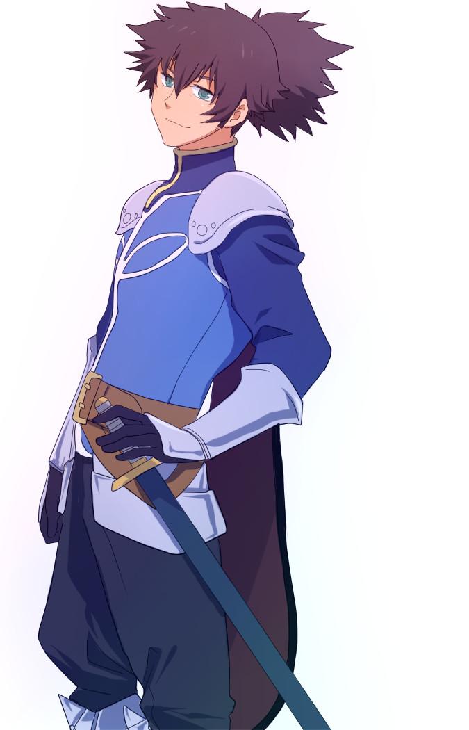 Tags: Anime, Kamosuke, Namco, Tales of Vesperia, Raven (Tales of Vesperia), Flynn Scifo (Cosplay), Pixiv