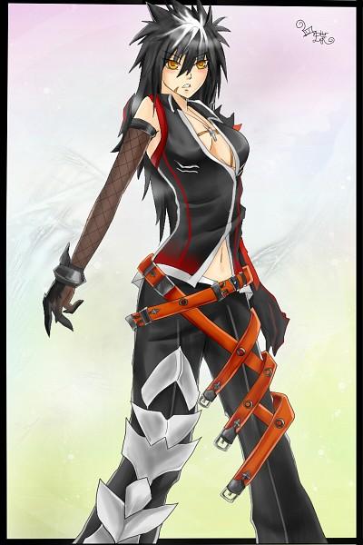 reckless fist raven948007 zerochan