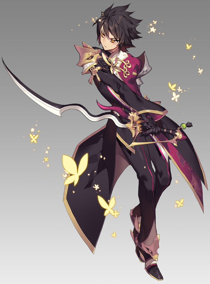 Anime Characters With Jobs : Raven elsword zerochan anime image board