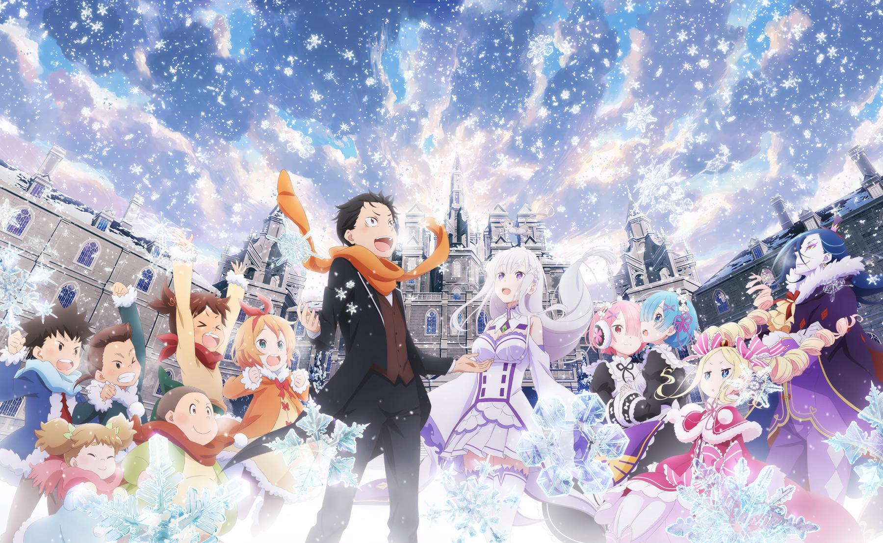 Re Zero Kara Hajimeru Isekai Seikatsu Memory Snow Wallpaper
