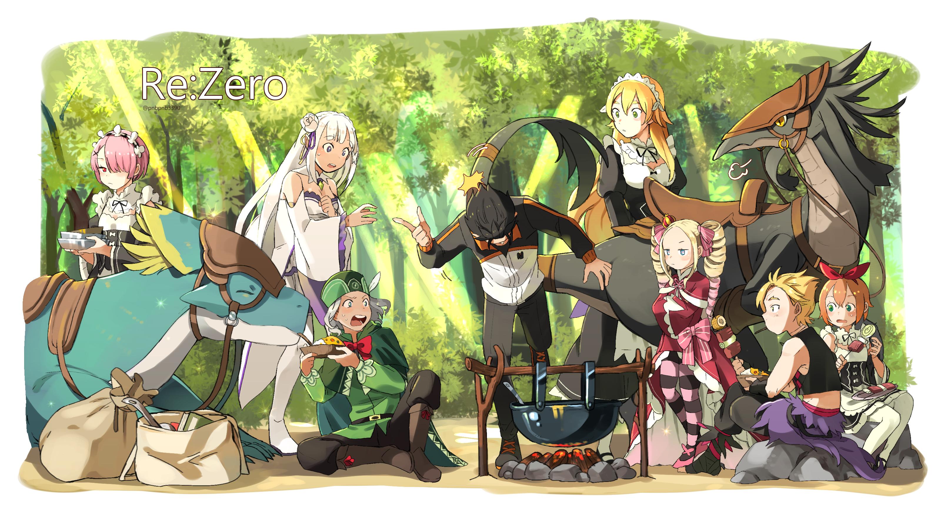 Re Zero Kara Hajimeru Isekai Seikatsu Re Zero Starting Life In Another World Image 2414115 Zerochan Anime Image Board