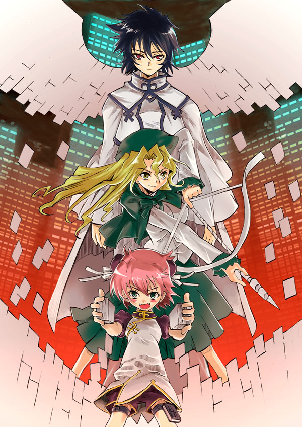 Tags: Anime, Read or Die, Maggie Mui, Michelle Cheung, Anita King