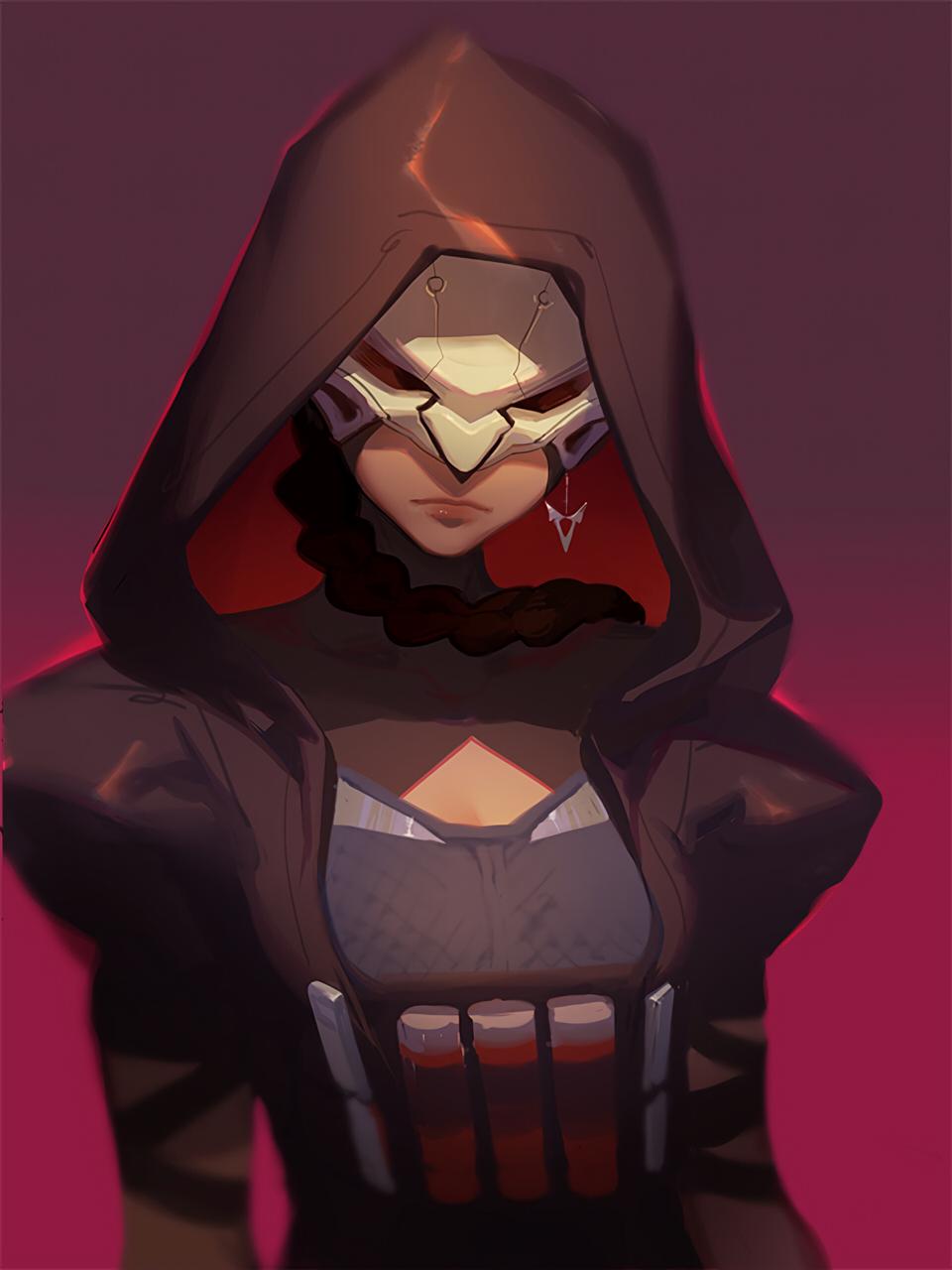 Reaper Overwatch Mobile Wallpaper 2043470 Zerochan