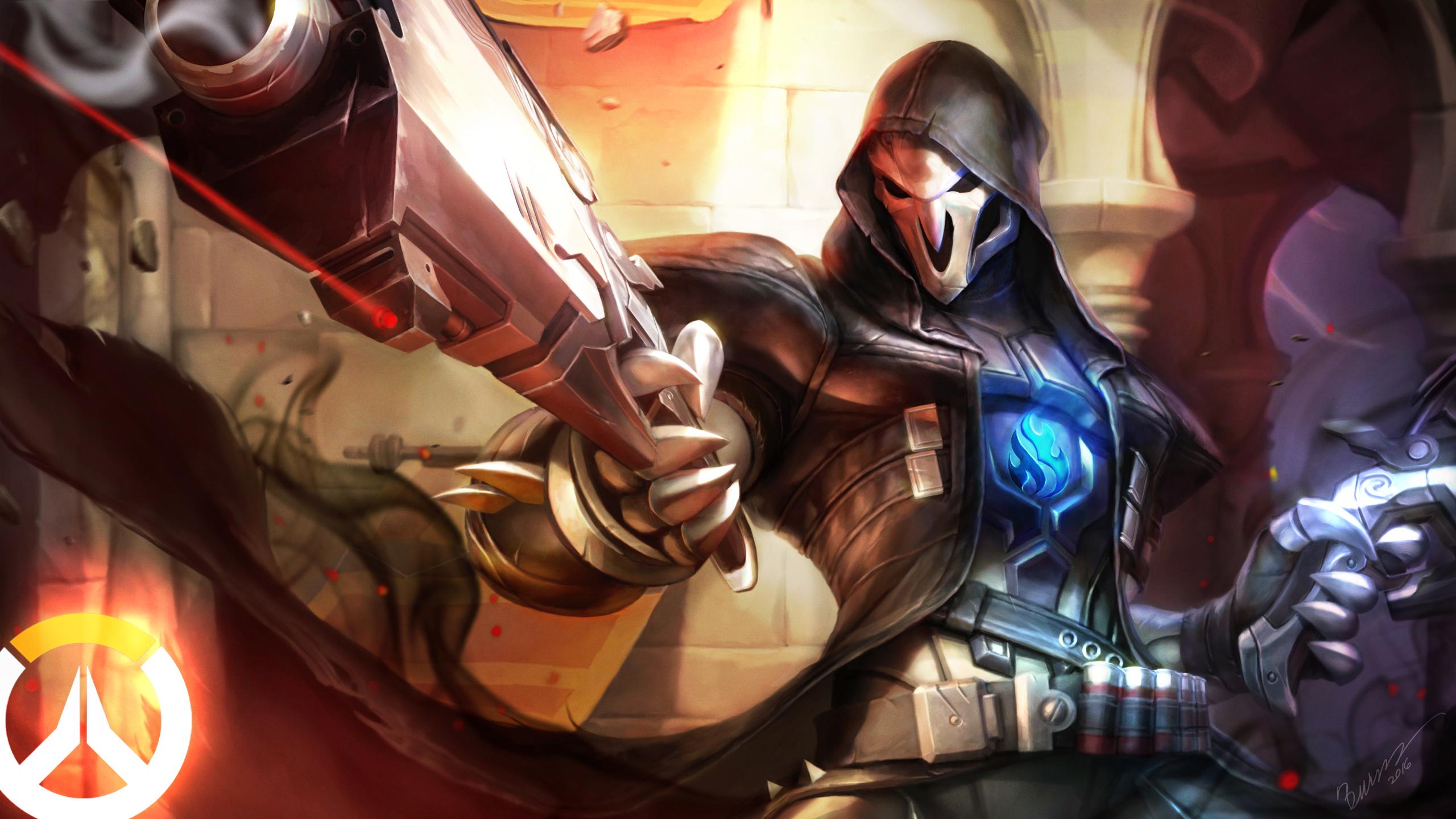 Reaper Overwatch Wallpaper 2177111 Zerochan Anime Image