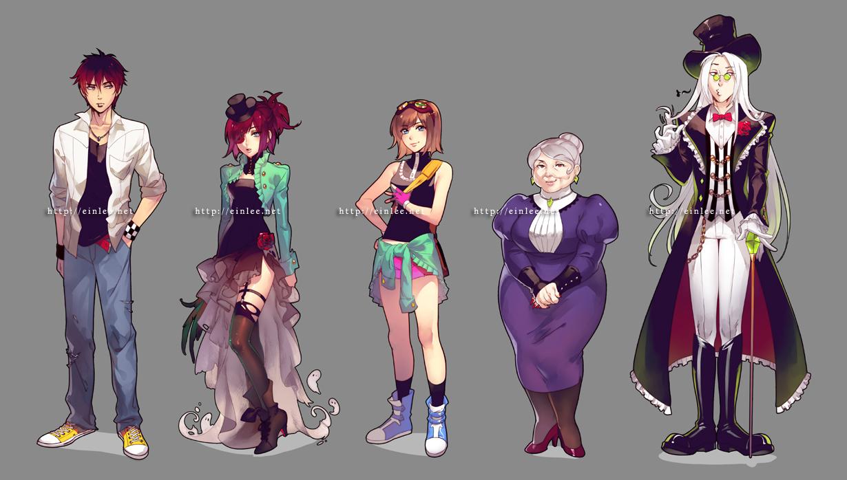 Character Design Zerochan : Recipes for the dead zerochan
