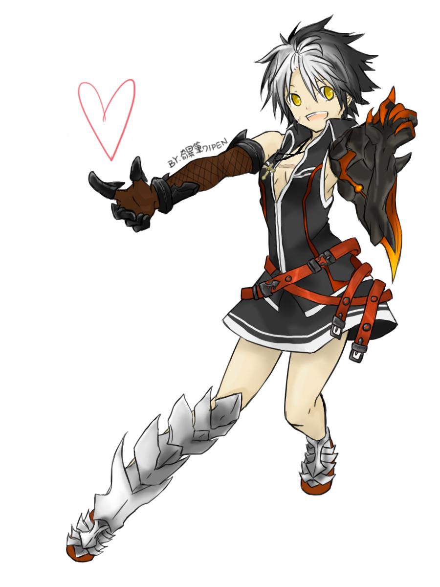 reckless fist raven raven elsword zerochan anime