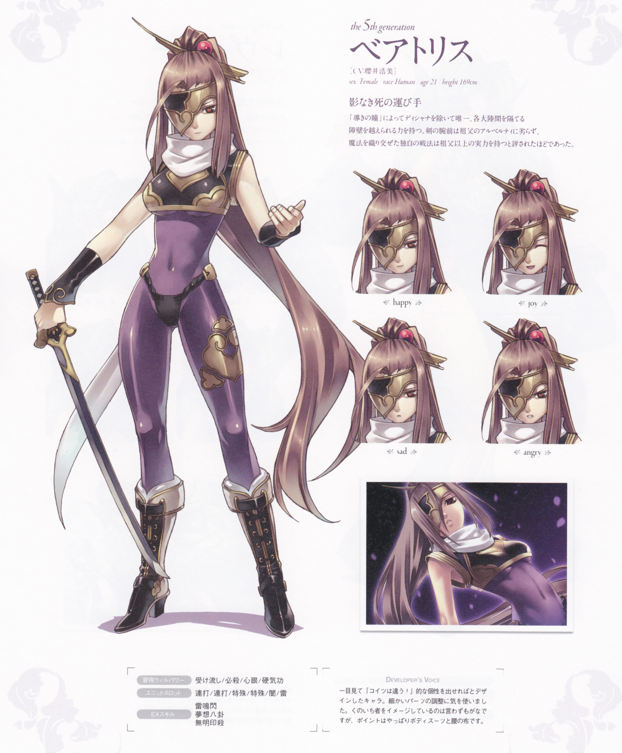 ... download Record Of Agarest War - Heroines Visual Book image