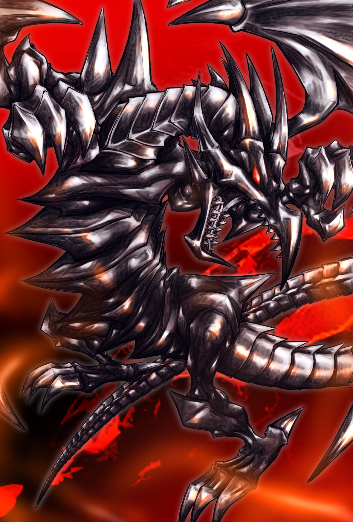 red eyes black ultimate dragon drawing images