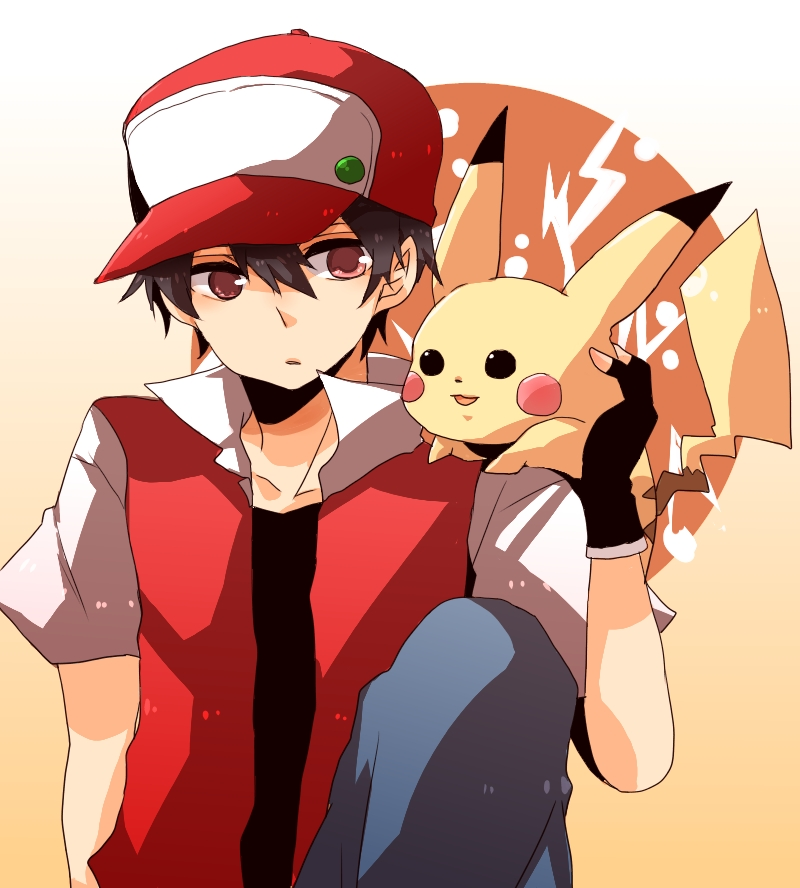 Red (Pokémon) - Pokémon Red & Green - Image #1263676 ...