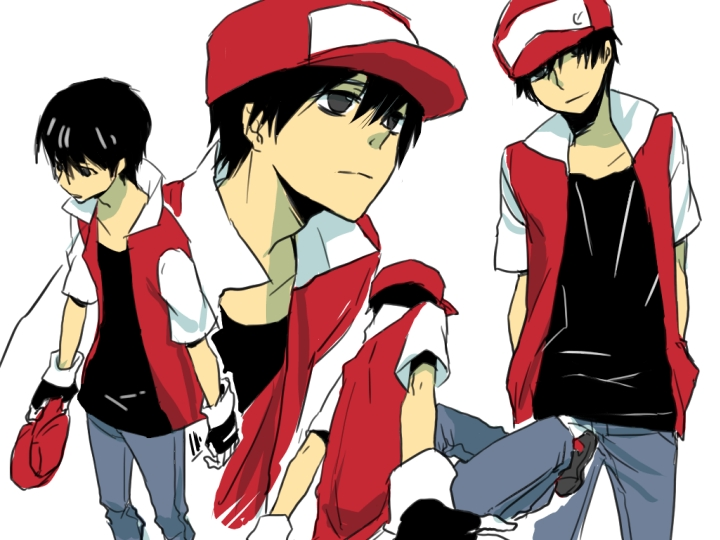 Red (Pokémon) - Pokémon Red & Green - Image #909985 ...