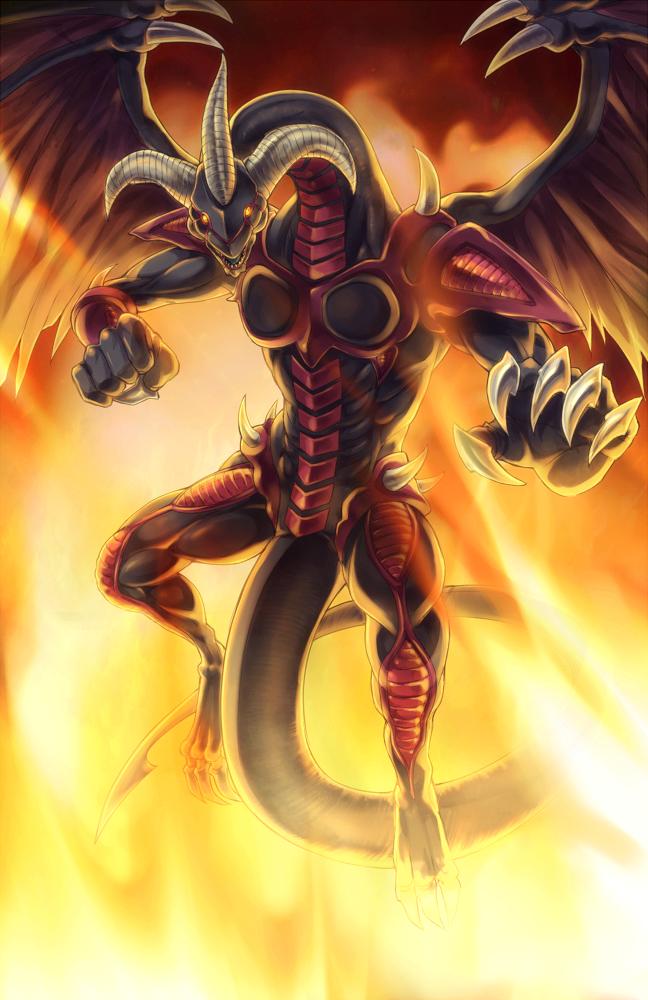 red dragon archfiend yugioh 5ds mobile wallpaper
