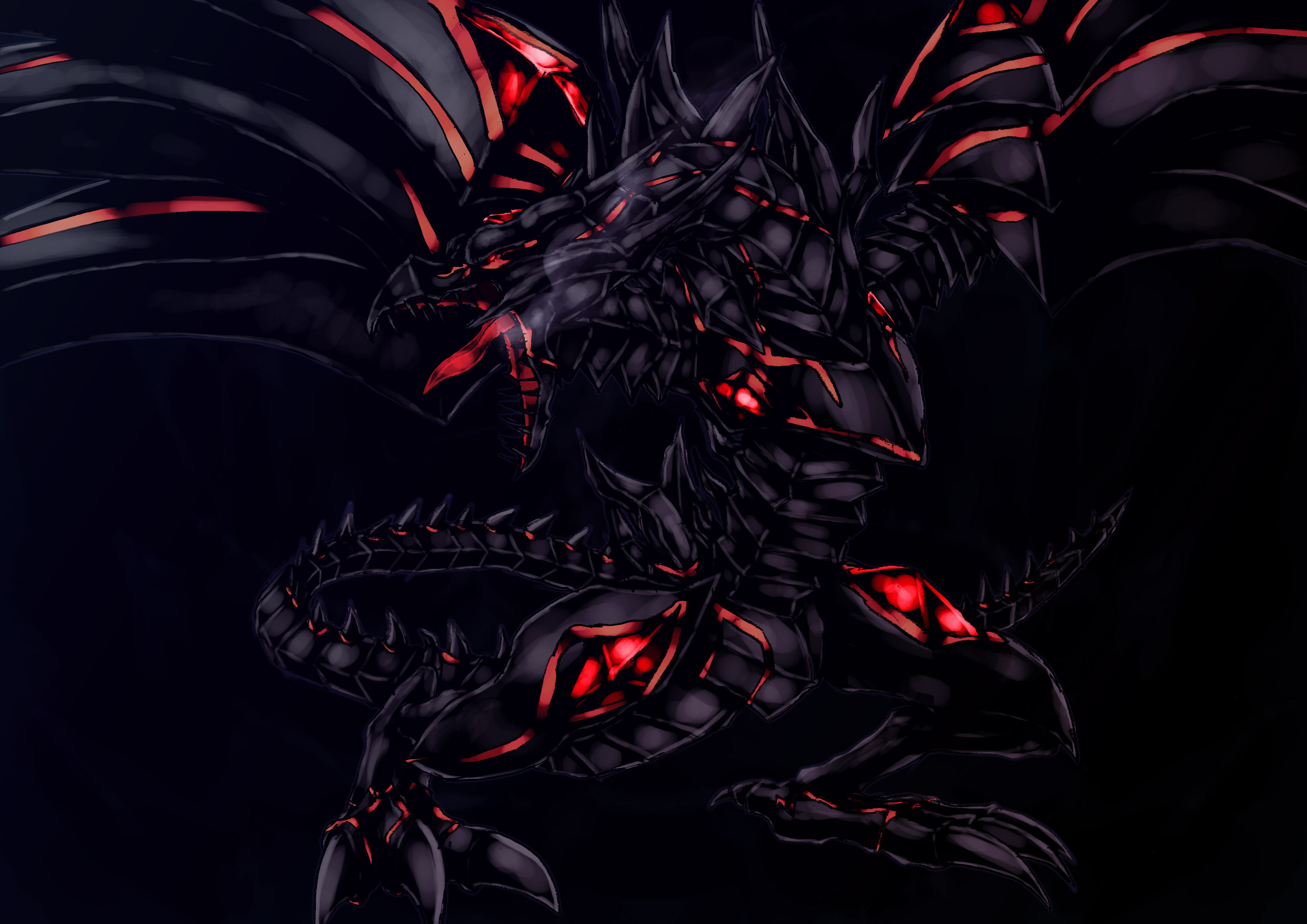 Red Eyes Darkness Dragon/#612932 - Zerochan