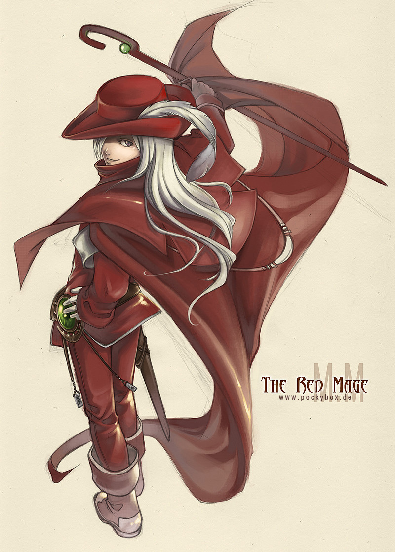 how to become a red mage