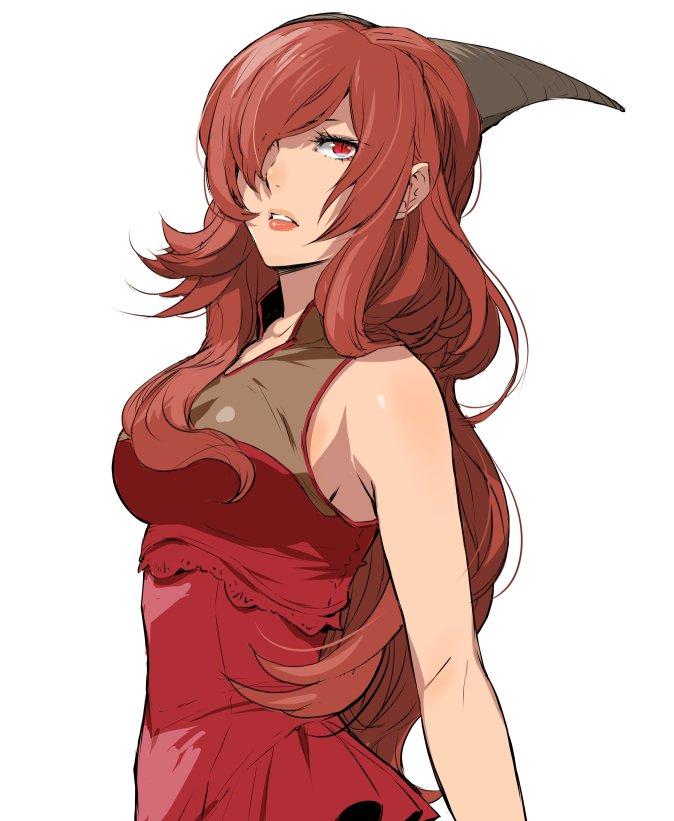 Tags: Anime, Enami Katsumi, Isekai Shokudou, Red Queen (Isekai Shokudou), Twitter, Fanart