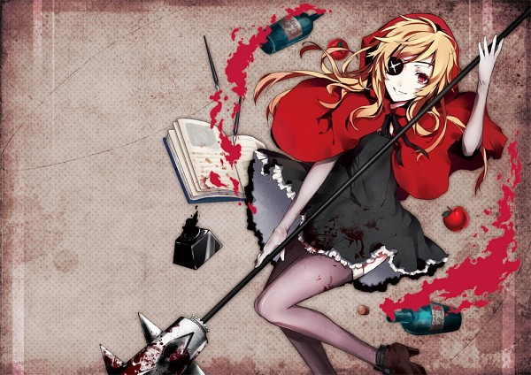 Tags: Anime, Red Riding Hood, Original, Pixiv, Arisaka Ako