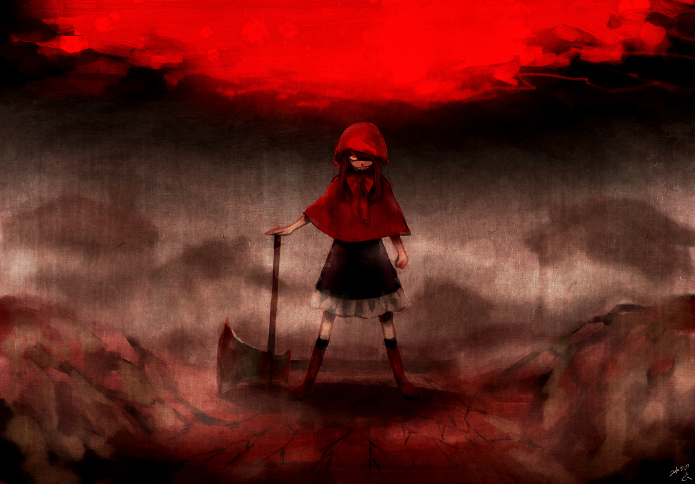 Red Riding Hood Character Zerochan Anime Image Board