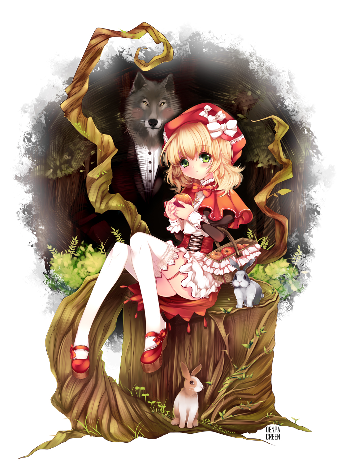 Little red riding hood wolf anime red riding hood character624646 zerochanlittle red riding hood wolf anime sciox Choice Image