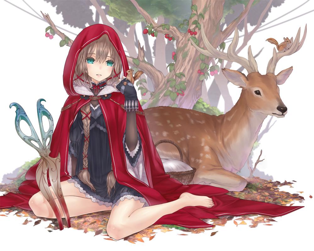 Anime Character 2d : Red riding hood character zerochan
