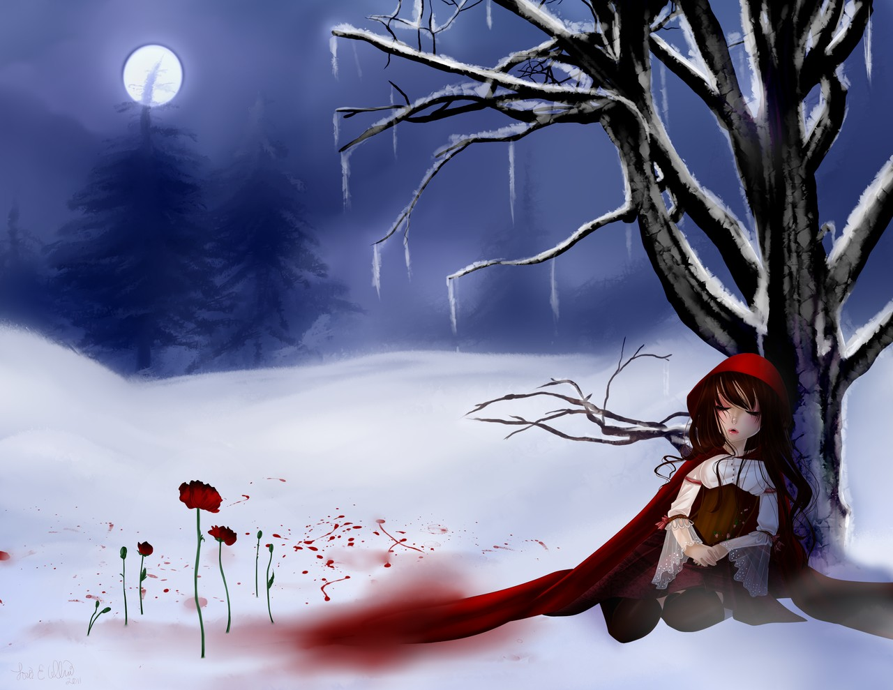 no more sweet red riding hood Little red riding hood there was once a sweet little maid, much beloved by everybody, but most of all by her grandmother, who never knew how.