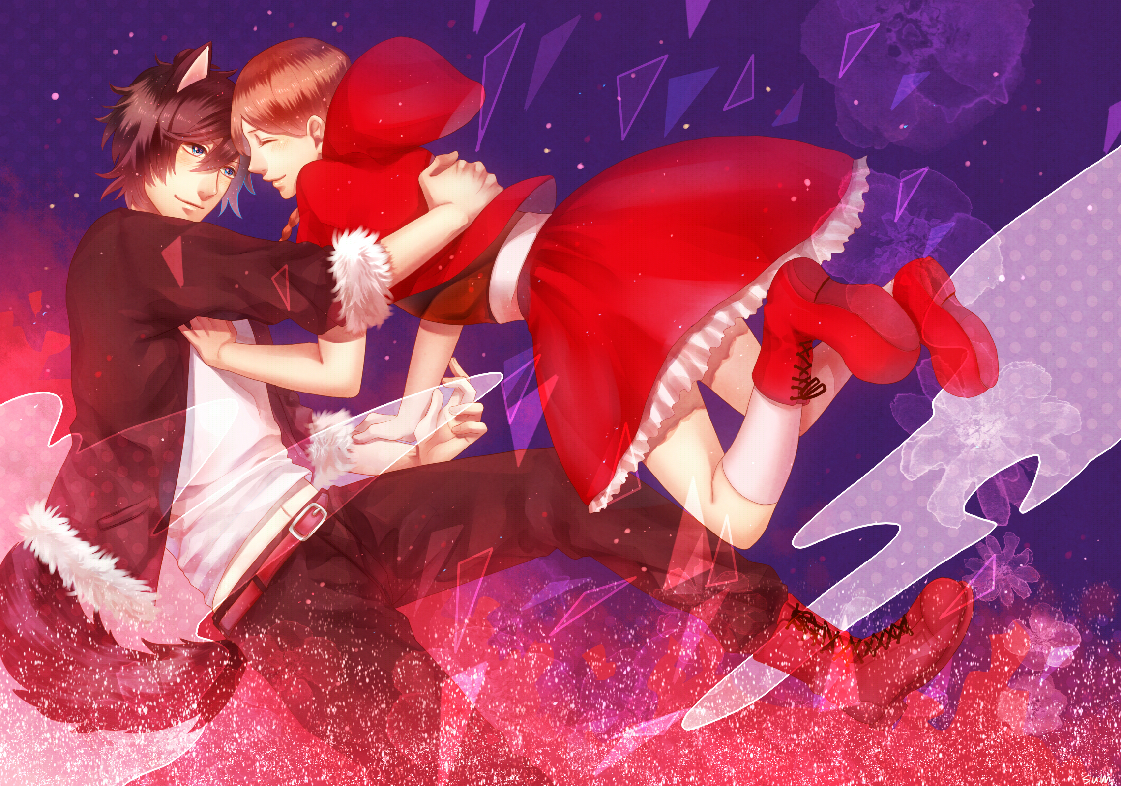 Little red riding hood wolf anime the wolf fell in love with red riding hood1221955 zerochan nanopics pictures little red riding hood little red ttle red riding hood sciox Choice Image