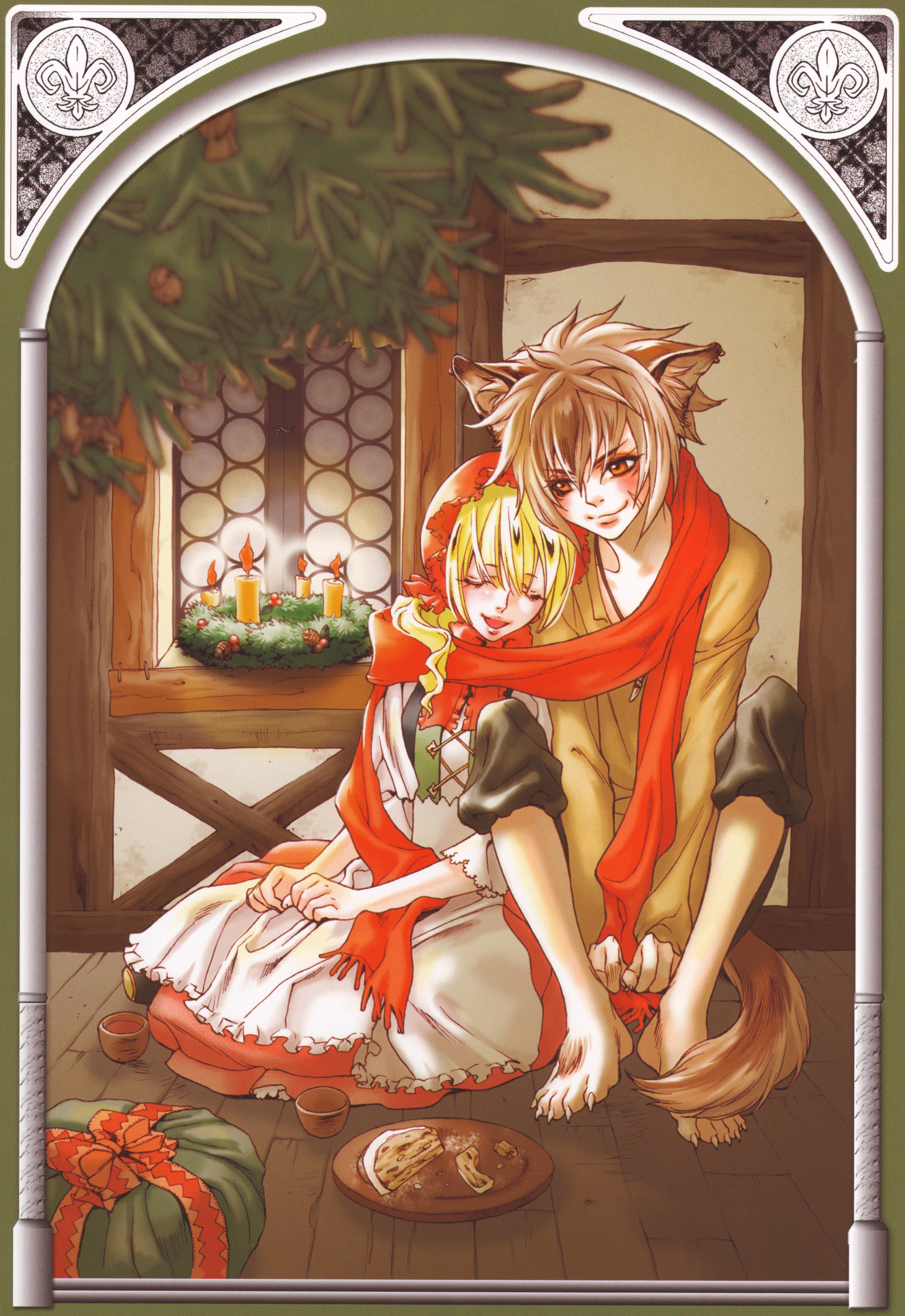 Anime big bad wolf