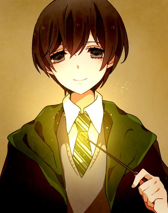 Tags: Anime, Pixiv Id 4758050, Harry Potter, Regulus Black, Fanart, Fanart From Pixiv, Pixiv, Slytherin House