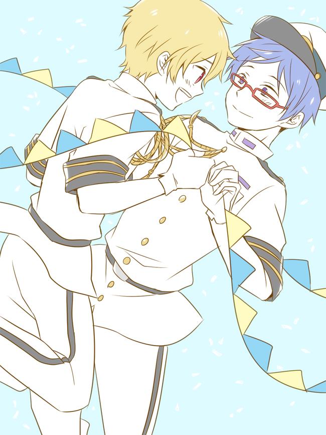 Tags: Anime, Pixiv Id 2783659, Free!, Ryuugazaki Rei, Hazuki Nagisa, Fanart From Pixiv, Pixiv, Fanart, ReiGisa
