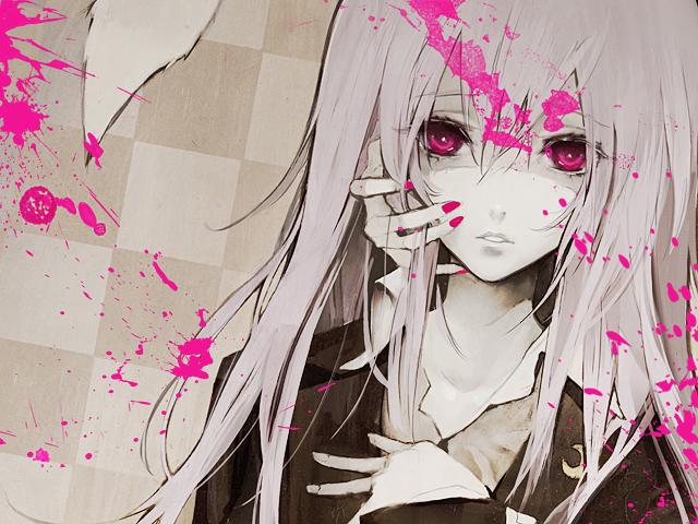 Tags: Anime, Banpai Akira, Touhou, Reisen Udongein Inaba, Unusual Colored Blood