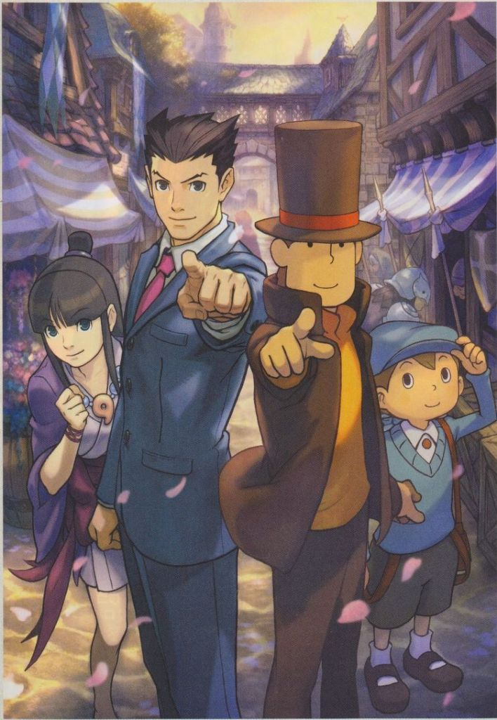 Gyakuten Saiban Phoenix Wright Ace Attorney Mobile Wallpaper